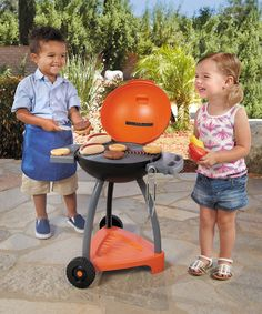Look at this Little Tikes Sizzle 'n' Serve Grill Toy Set on #zulily today!