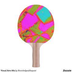 Visual Arts 882 Ping Pong Paddle