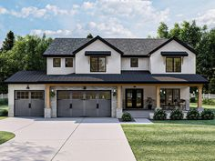 050H-0374: Two-Story Luxury House Plan; 3327 sf