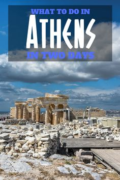 What to do in Athens in two days. Take a look at my inside travel tips on things to see and what to do in Athens in two days. #greece #athens #bucketlist #thingstodoin #acropolis #wanderlust #highlights #cityguide #Plaka #traveltips #travel