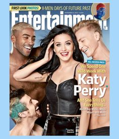 Katy Perry Entertainment Weekly EW 2013