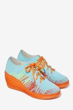 Jeffrey Campbell Inferma Knit Sneaker - Sneakers |