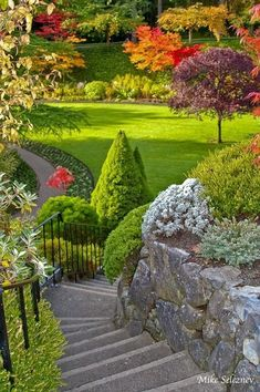 nature garden, Butchart Gardens in British columbia, Canada Amazing Gardens, Beautiful Gardens, Beautiful Flowers, Beautiful Places, Gardens Of The World, Garden Park, Parcs, Dream Garden, Amazing Nature
