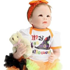 122.60$  Buy here - http://ali8n7.worldwells.pw/go.php?t=32723327753 - Handmade High Quality Lifelike Silicone Reborn Baby Dolls 22 Inches Realistic Newborn Princess Girl Babies With Clothes For Sale 122.60$