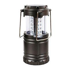 Ultra Bright LED Lantern - linternas de camping impermeables - Colapsa - ideales para jardines, patios, estancias al aire libre, pesca, excursionismo ,huracán,Outages -Resistente al Agua