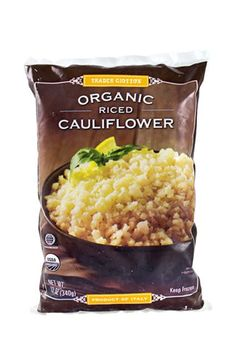 """These Are The Best Trader Joe's Products According To Employees #refinery29  http://www.refinery29.com/trader-joes-employees-favorite-products#slide-3  Mark, Southern California""""Make the easiest stir-fry ever with the Frozen Organic Riced Cauliflower or Frozen Organic Fully Cooked Quinoa and the pre-chopped Vegetable Stir Fry. Sauté with a little garlic, olive oil, and soy sauce, and add Sriracha sauce after for a little heat. It's low carb and gluten-free, too."""" ..."""