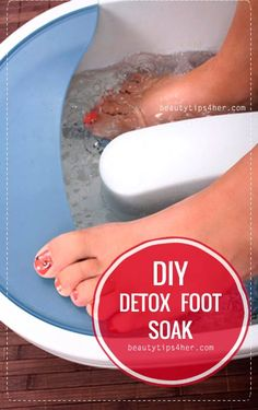 Spa Day Saturday – Detoxing Foot Soak | Beauty and MakeUp Tips