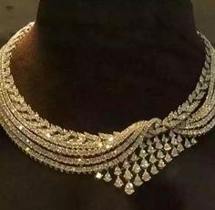 Diamond Necklaces Top Shared 16 Diamond Necklace Designs A Perfect Round Cut Russian Lab Diamond Solitaire… Piaget Creative Bridal Jewelry, Gold Jewelry, Fine Jewelry, Jewelry Necklaces, Diamond Necklaces, Jewlery, Gold Necklace, Necklace Set, Diamond Necklace Simple
