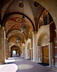 Romanesque inspired Royce Hall