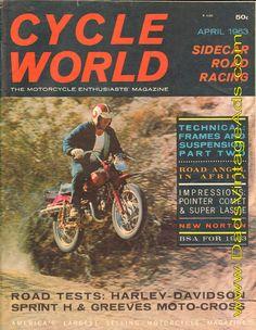 1963 Harley-Davidson Sprint H Road Test / Specs – a very versatile lightweight