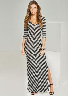 Katrina V-Neck Maxi - Dresses - Clothing - Alloy Apparel