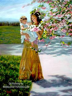 """Cherry Blossom"" Original Oil Painting"