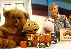 Zippy, George and Bungle were forced to eat in a separate canteen on the set of Rainbow.