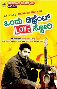 ondu different love story new kannada movie poster #chitragudi