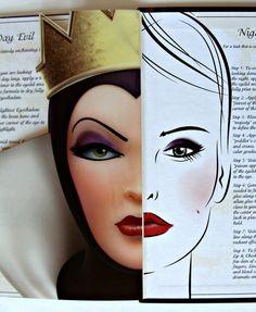 Dramatic face makeup | ELF Evil Queen Face Make-Up Set Disney Villain Halloween Book Devious ...