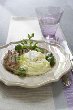 Vepřové medailonky s petrželovým pyré - Hlavní jídla - recepty - Sýr Philadelphia