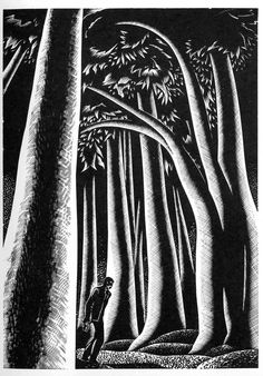 Lynd Ward (American, 1905-1985). Wild Pilgrimage. Plate 21. 1932.