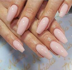 75 natural summer nail color ideas for 2019 - natural nails - # for . - 75 natural summer nail color ideas for 2019 # nails # natural - Nude Nails, My Nails, Pink Gel Nails, Best Nails, Baby Pink Nails Acrylic, Gel Nail Set, Classy Acrylic Nails, Pink Nail Colors, Matte Nails