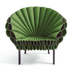 Peacock Armchair, designed by Dror Benshetrit for Cappellini by re-Design, via Flickr