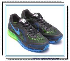 super popular d6638 98982 scarpe eleganti NeroBlu elettrico-Verde elettrico-Lime brillante  621077-005 Nike