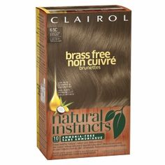 Clairol Natural Instincts Brass Free Haircolor, Lightest Brown 6.5C, 1 ea (381519038198) Natural Instincts is enriched with a unique blend of Antioxidants and Vitamins C & E - it's haircolor that actually improves the healthy look of your hair! Your hair will radiate with rich, natural-looking color and luminescent shine. Natural Instincts is perfect if you are looking for: Healthier, truly natural-looking color* with brilliant shine. Natural-looking gray coverage for color that lasts up to…