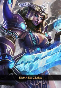 Freya - Rainha das Valquírias - Deuses - SMITE