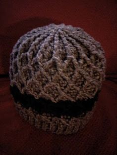 Lattice Hat free crochet pattern