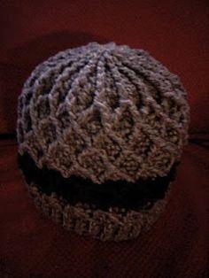 Lattice Hat free crochet pattern
