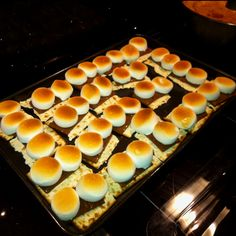 Matzo s'mores for passover!