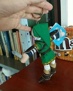 The Legend Of Zelda, Lovers Art, Fan Art, Instagram, Link, Bags, Manualidades, Cloth Art Dolls, Key Fobs