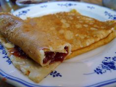 Swedish Pancakes and Lingonberry Jam | World Plates