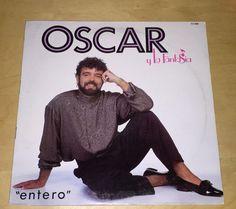 Oscar Y La Fantasia Entero 33 rpm Tropic Record LP 1989 Ex Vinyl Latin