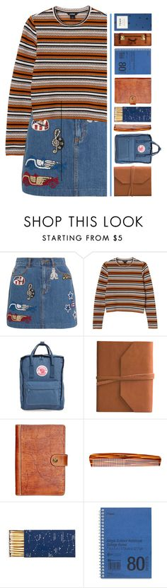 """""""Stripes!"""" by pineapples-2 ❤ liked on Polyvore featuring Marc Jacobs, Monki, Fjällräven, Eccolo, Patricia Nash, Mason Pearson, Jayson Home and Mead"""
