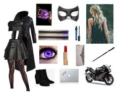"""hp oc"" by creepypasta-is-mah-life ❤ liked on Polyvore featuring Masquerade, Vinyl Revolution, Hooded Trench, Mairi Mcdonald, Liviana Conti, Billini, Chanel and Nanette Lepore"