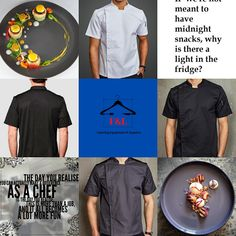 F&L Catering Suppliers where the chef is always right. The number one place for unique chef attire with attitude. High quality and delivered straight to your door. Long sleeve, short sleeve chef jacket. Mens, Womens, & Unisex Chef jackets, Chef trousers, chef hats & aprons.New fashion chef jackets for best chefs in 2020. Summer Sale Up To 30%Off Sgin Up Today Get 20% Off Chef Hats, Catering Equipment, Best Chef, How To Get Rich, Summer Sale, Aprons, Chefs, More Fun, Chef Jackets