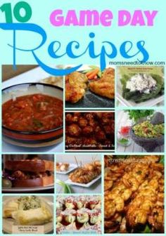 10 Game Day Recipes For Football Parties - Moms Need To Know ™