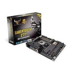 ASUS SABERTOOTH Z77 TUF Series Motherboard on Intel Z77 Platform z77 ATX DDR3 1600 Intel - LGA 1155 Motherboard