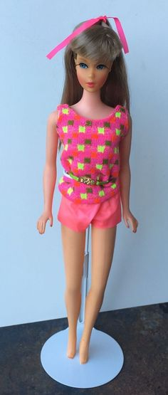1967 Mod TNT Ash Blonde Barbie all original - US $102.50 - OSS with Green Belt