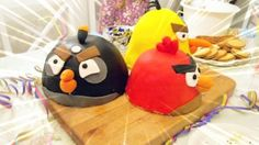 Angry Birs cakes