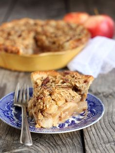 Dutch Apple Pie, from @Annalise Furman Furman (Completely Delicious)