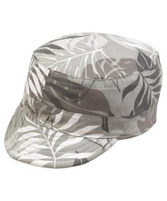 Rainforest - Stone Reversible Army Hat