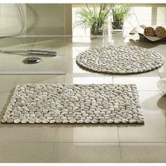 How to make cool pebble stone floor decoration step by step DIY tutorial instructions | How To Instructions