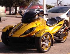 cam am spyder 3 wheel motorcycle so it 39 s like an old school tric but won 39 t tip when you. Black Bedroom Furniture Sets. Home Design Ideas
