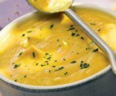 Crema de calabaza y coliflor al tomillo