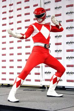 Red Power Ranger cosplay