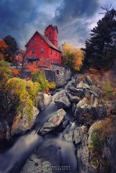 The Red Old Mill. by Thomas Fliegner on 500px