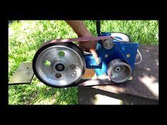 Belt Grinder 2x48 с колесом - YouTube