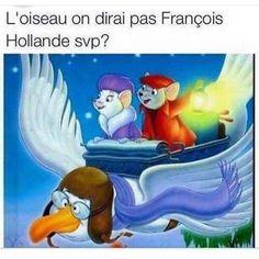 L'oiseau on dirait pas françois hollande