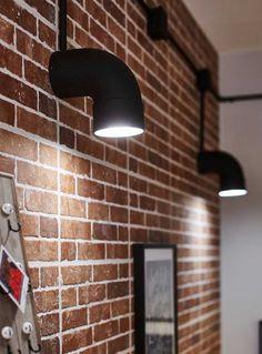 Living room light fixtures, Lighting, Diy sconces, Industrial wall lights, Diy l… – Top Trend – Decor – Life Style Living Room Light Fixtures, Diy Light Fixtures, Living Room Lighting, Bathroom Lighting, Diy Luminaire, Diy Lampe, Industrial Bedroom Design, Industrial Wall Lights, Room Lights