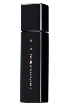 Free shipping and returns on Narciso Rodriguez 'For Her' Eau de Toilette (1 oz.) at Nordstrom.com. Narciso Rodriguez For Her Eau de Toilette is a modern classic, seducing with purity, grace and subtlety. Musk, the heart of the scent, is refined by a synthesis of floral notes and hints of soft amber. Sensual and addictive, For Her is femininity at its most powerful.<br><br>How to use: Spray on pulse points at your neck and wrists.<br><br>Notes: orange blossom, osmanthus, rose, solar musk, ...